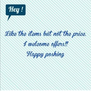 Other - I love offers!! Happy poshing!!